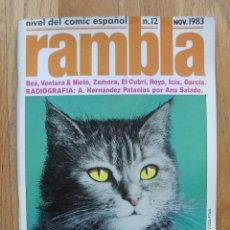 Cómics: COMIC RAMBLA NUMERO 12. Lote 52576565