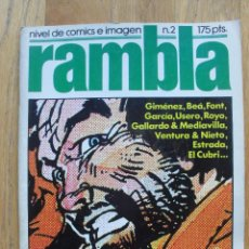Cómics: COMIC RAMBLA NUMERO 2. Lote 52576628