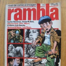 Cómics: COMIC RAMBLA, NUMERO 1. Lote 52576662
