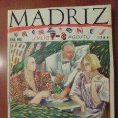 Cómics: MADRIZ NUMERO 7-8,. Lote 52589825
