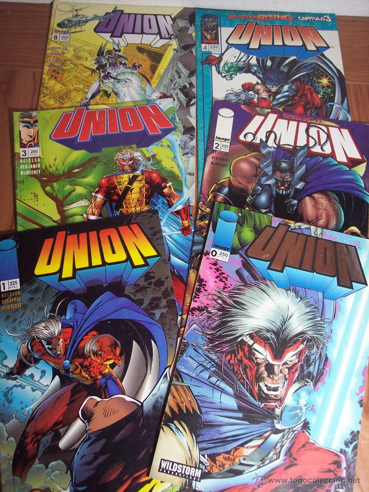 LOTE DE 6 COMICS UNION (Nº 0-1-2-3-4 Y 8) PLANETA - 1996 (Tebeos y Comics - Comics Pequeños Lotes de Conjunto)