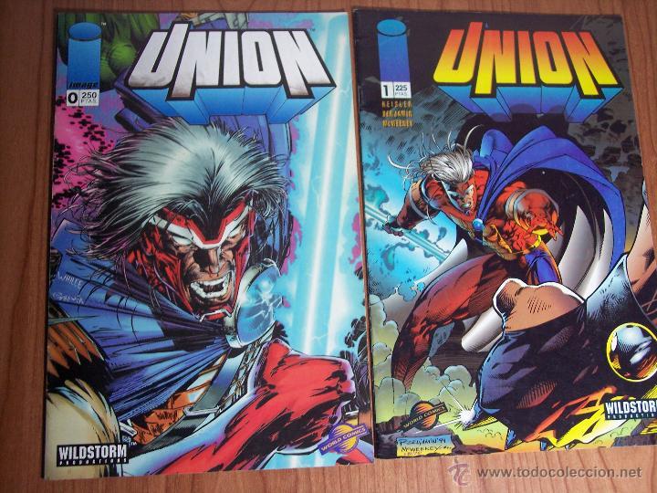 Cómics: LOTE DE 6 COMICS UNION (Nº 0-1-2-3-4 y 8) PLANETA - 1996 - Foto 2 - 52622510