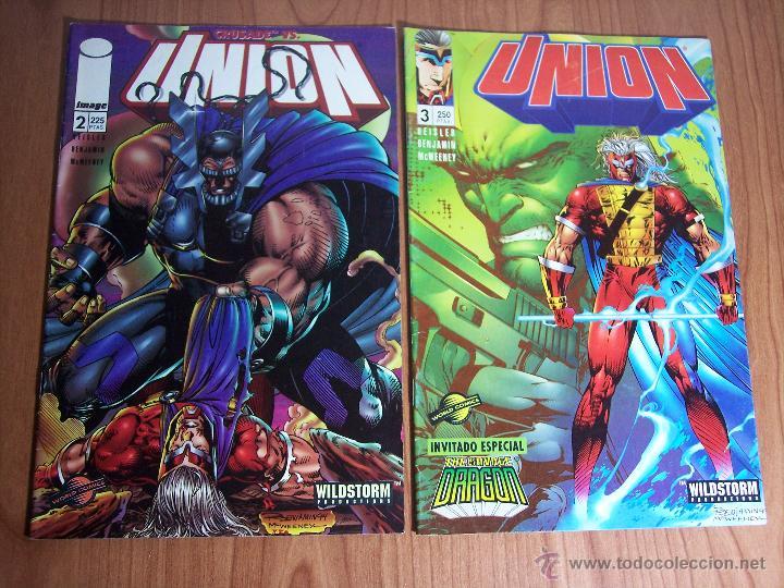 Cómics: LOTE DE 6 COMICS UNION (Nº 0-1-2-3-4 y 8) PLANETA - 1996 - Foto 3 - 52622510