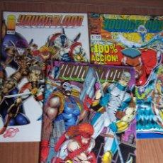 Cómics: LOTE DE 3 COMICS YOUNGBLOOD Nº 0-1 Y 6 ) PLANETA 1994. Lote 52623198