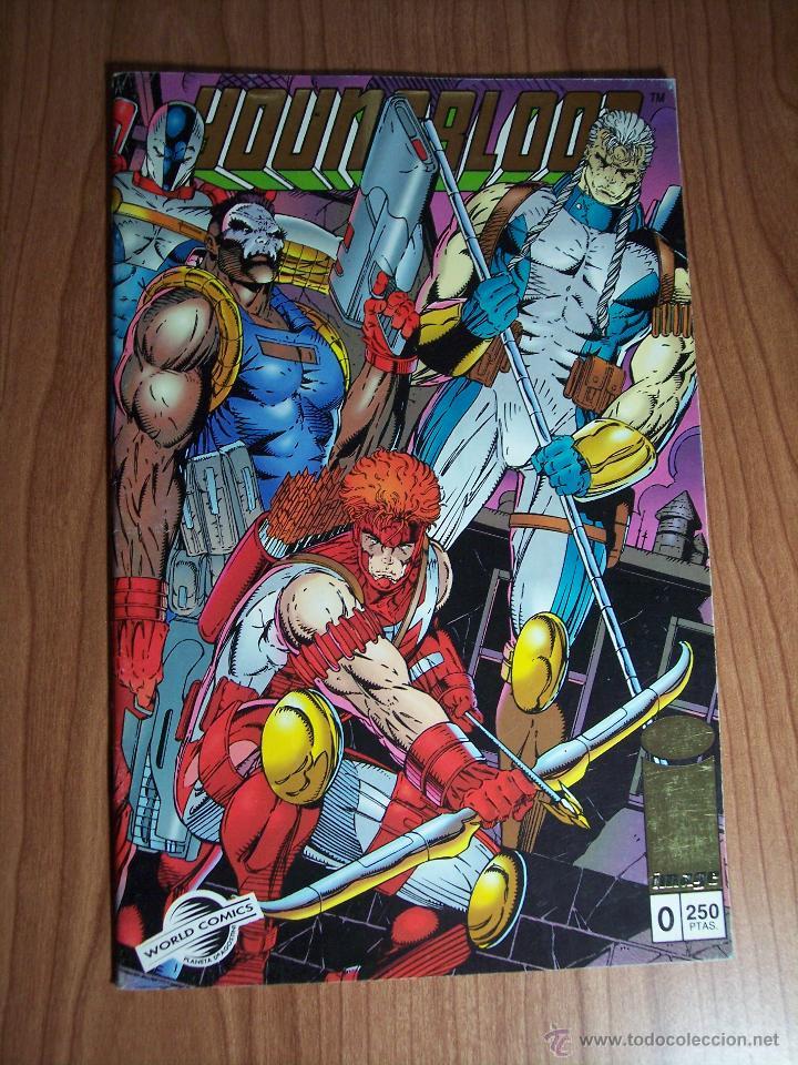 Cómics: LOTE DE 3 COMICS YOUNGBLOOD Nº 0-1 y 6 ) PLANETA 1994 - Foto 2 - 52623198