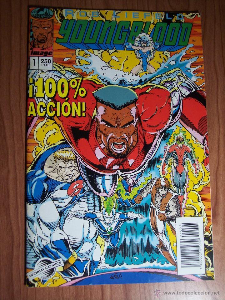 Cómics: LOTE DE 3 COMICS YOUNGBLOOD Nº 0-1 y 6 ) PLANETA 1994 - Foto 3 - 52623198