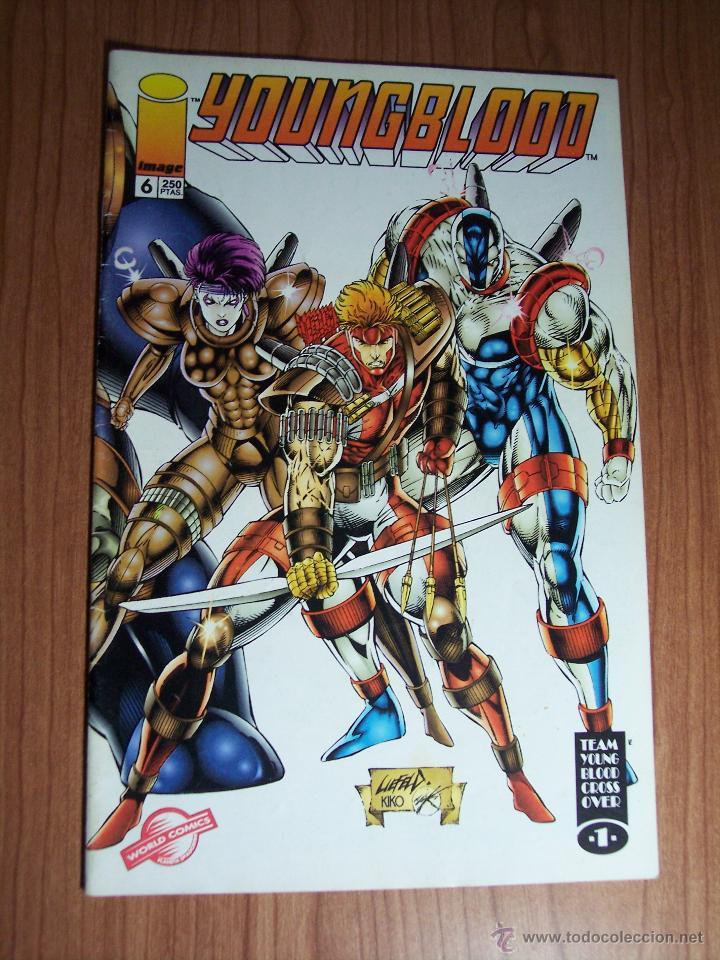 Cómics: LOTE DE 3 COMICS YOUNGBLOOD Nº 0-1 y 6 ) PLANETA 1994 - Foto 4 - 52623198