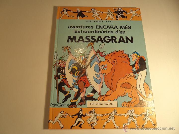 AVENTURES ENCARA MES EXTRAORDINARIES D'EN MASSAGRAN. (M-8) (Tebeos y Comics Pendientes de Clasificar)