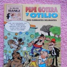 Cómics: EL MEJOR IBAÑEZ 4 PRIMERA PLANA 1999 PEPE GOTERA Y OTILIO EL PERIODICO. Lote 52758149