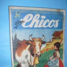 Cómics: EL GRAN CHICOS, Nº 11, DE 1946, CON 34 PAGINAS, BUEN ESTADO. Lote 52821137