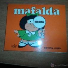 Cómics: MAFALDA INEDITA EDITORIAL LUMEN . Lote 52849616