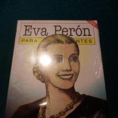 Fumetti: EVA PERÓN, PARA PRINCIPIANTES - COMIC DE NERIO TELLO & DANIEL SANTORO - EDICIÓN ESPECIAL -PRECINTADO. Lote 52853170
