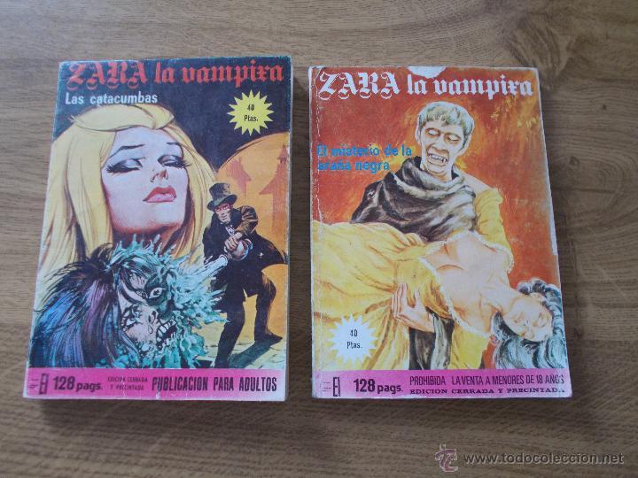 ZARA LA VAMPIRA. Nº 5 Y 19 ELVIBERIA 1976 (Tebeos y Comics - Comics otras Editoriales Actuales)
