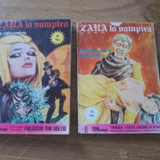 Cómics: ZARA LA VAMPIRA. Nº 5 Y 19 ELVIBERIA 1976. Lote 52913631
