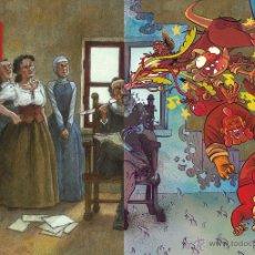 Cómics: CÓMICS. MIGUEL EN CERVANTES. EL RETABLO DE LAS MARAVILLAS - DAVID RUBÍN/MIGUELANXO PRADO. Lote 52948771