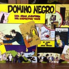 Cómics: DOMINO NEGRO. UNA GRAN AVENTURA DEL INSPECTOR WADE. LYMAN ANDERSON. Lote 52993398