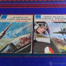 Cómics: BUCK DANNY TIGRES VOLANTES CONTRA PIRATAS Y ALERTA EN CABO KENNEDY. SUSAETA 1971. RAROS.. Lote 52994416