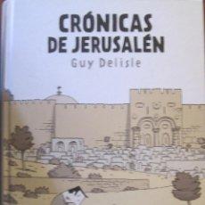 Cómics: CRONICAS DE JERUSALEN / GUY DELISLE / ASTIBERRI. Lote 53008850