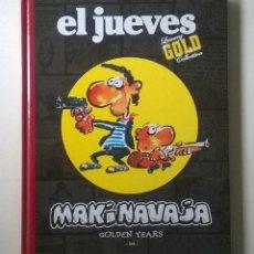 Comics : EL JUEVES MAKINAVAJA - LUXURY GOLD COLLECTION - IVÁ - AÑO 2007.. Lote 53033164
