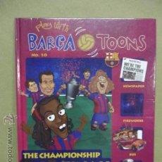 Cómics: PLAY WITH BARÇA TOONS .- Nº 10 - COMO NUEVO. Lote 53128273