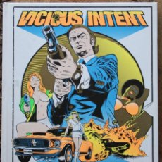 Cómics: VICIOUS INTENT: THE ROCK 'N' ROLL ART AND EXPLOITATION OF STAINBOY REINEL. Lote 53168548