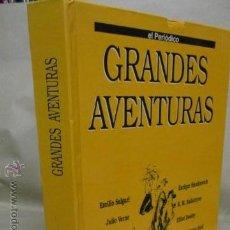 Cómics: GRANDES AVENTURAS. TOMO 4. EL PERIÓDICO. SALGARI. JULIO VERNE. KARL MAY Y OTROS. . Lote 53192941