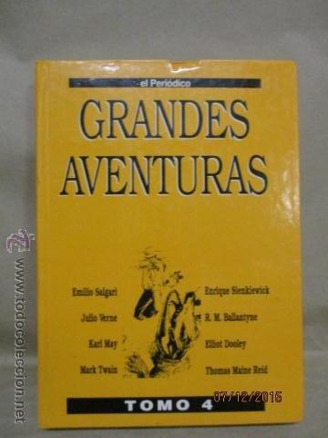 Cómics: GRANDES AVENTURAS. TOMO 4. EL PERIÓDICO. SALGARI. JULIO VERNE. KARL MAY Y OTROS. - Foto 2 - 53192941