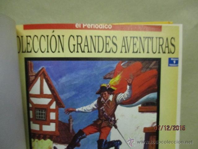 Cómics: GRANDES AVENTURAS. TOMO 4. EL PERIÓDICO. SALGARI. JULIO VERNE. KARL MAY Y OTROS. - Foto 4 - 53192941