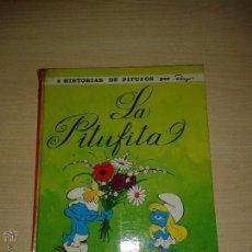 Cómics: ANTIGUO COMIC DE ARGOS LA PITUFITA 1ª EDICION AÑO 1969 EN MUY BUEN ESTADO ORIGINAL. Lote 53206679