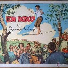 Cómics: TEBEOS DE FORMACIÓN RELIGIOSA SALESIANA DON BOSCO (EDOSA - 1958) - 4 NÚMEROS. . Lote 53481022