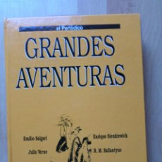 Cómics: GRANDES AVENTURAS_TOMO 4_EL PERIÓDICO. Lote 53527424