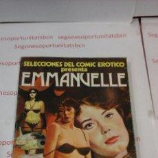 Cómics: SELECCIONES DEL COMIC EROTICO - EMMANUELLE. Lote 53531032