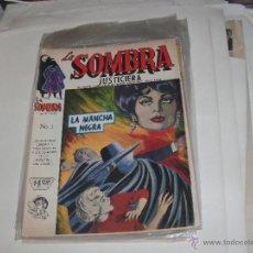 Cómics: LA SOMBRA JUSTICIERA - NUMERO 1 -. Lote 53559010