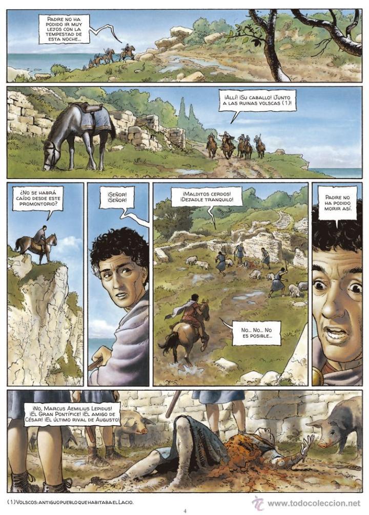 Cómics: Cómics. Alix Senator 01. Las Águilas de Sangre - Jacques Martin/Valérie Mangin/Thierry Démarez (Cart - Foto 3 - 84999900