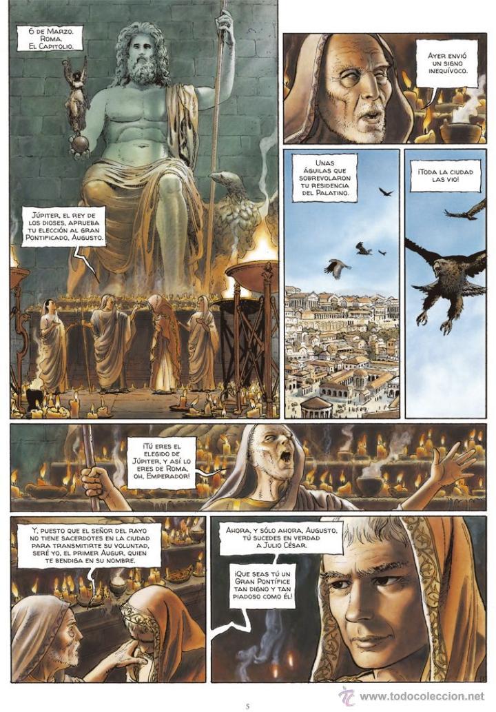 Cómics: Cómics. Alix Senator 01. Las Águilas de Sangre - Jacques Martin/Valérie Mangin/Thierry Démarez (Cart - Foto 4 - 84999900