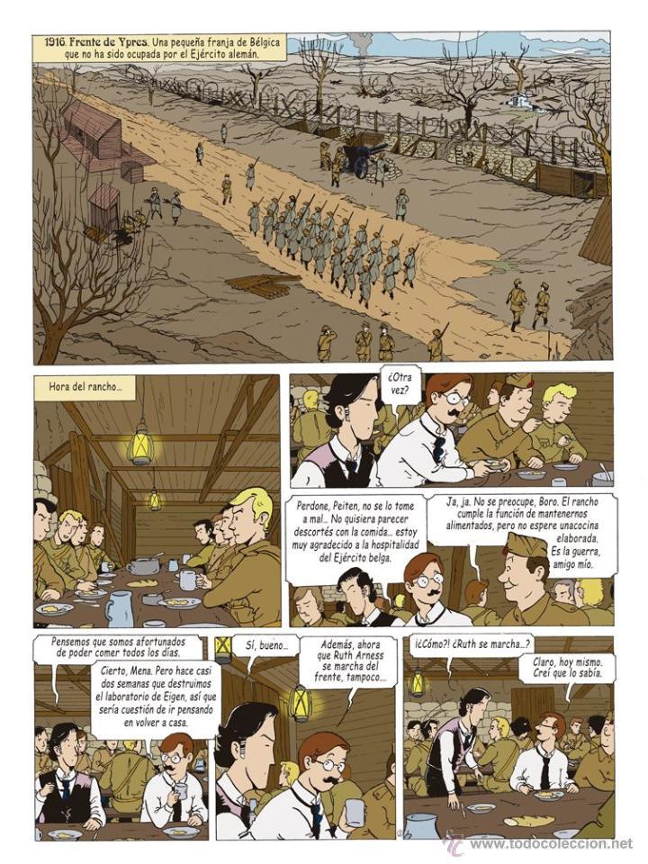Cómics: Cómics. LAS AVENTURAS DE MIQUEL MENA 02. S.O.S. ZEPPELIN! - Pablo Herranz/José Luis Povo (Cartoné) - Foto 2 - 289216623