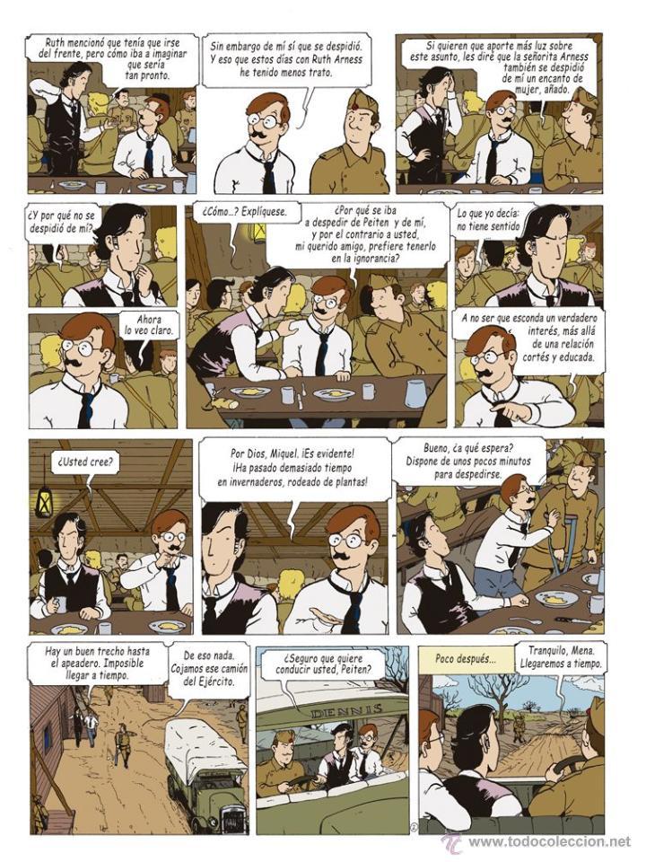 Cómics: Cómics. LAS AVENTURAS DE MIQUEL MENA 02. S.O.S. ZEPPELIN! - Pablo Herranz/José Luis Povo (Cartoné) - Foto 3 - 289216623