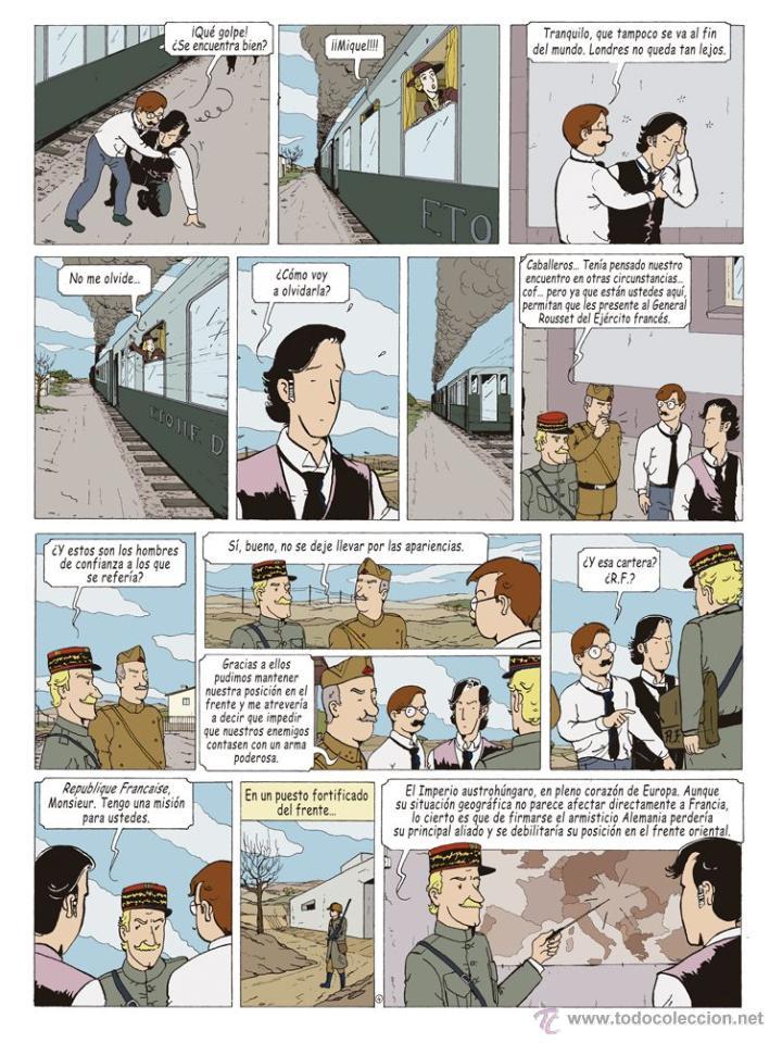 Cómics: Cómics. LAS AVENTURAS DE MIQUEL MENA 02. S.O.S. ZEPPELIN! - Pablo Herranz/José Luis Povo (Cartoné) - Foto 5 - 289216623