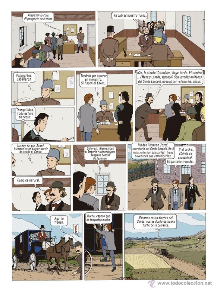 Cómics: Cómics. LAS AVENTURAS DE MIQUEL MENA 02. S.O.S. ZEPPELIN! - Pablo Herranz/José Luis Povo (Cartoné) - Foto 7 - 289216623