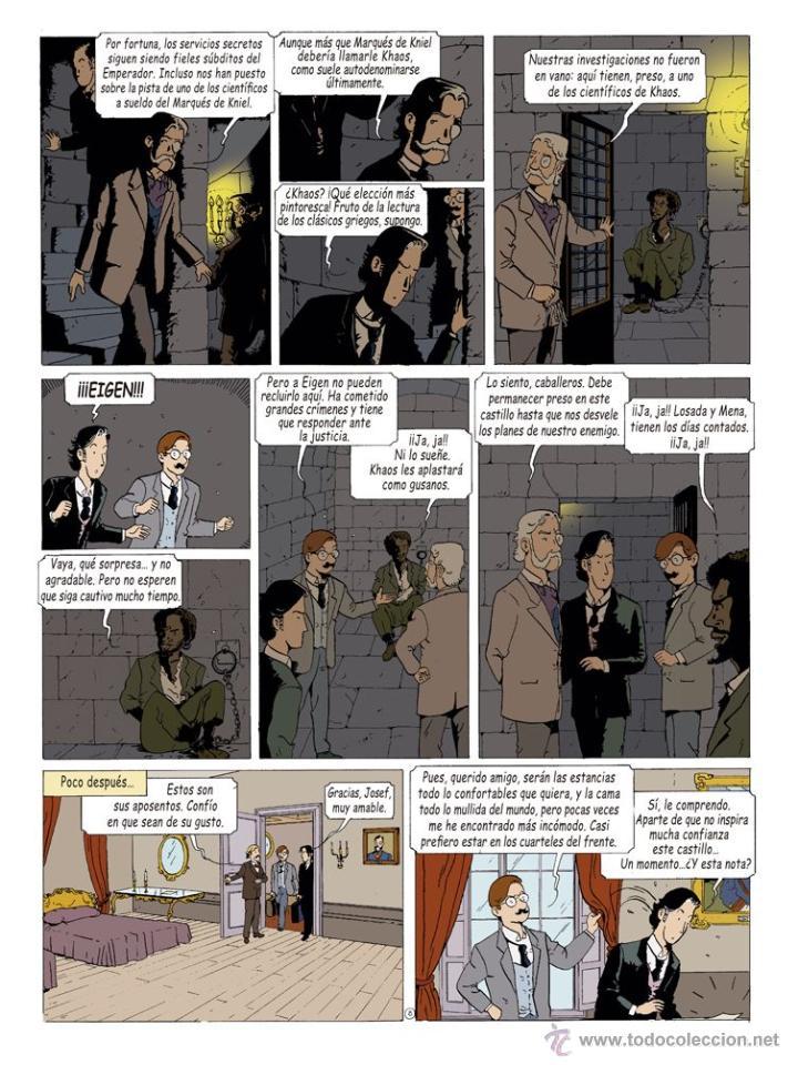 Cómics: Cómics. LAS AVENTURAS DE MIQUEL MENA 02. S.O.S. ZEPPELIN! - Pablo Herranz/José Luis Povo (Cartoné) - Foto 9 - 289216623