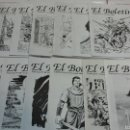 Cómics: LOTE 12 NÚMEROS - EL BOLETÍN FIRMADOS. Lote 53634744