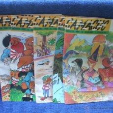 Cómics: LOTE DE 5 COMICS O TEBEOS CAMACUC DE 1991 Nº 69 - 71 - 72 - 73 - 74 ( NUEVOS ). Lote 53687000