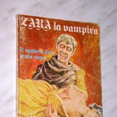 Cómics: ZARA LA VAMPIRA Nº 5. EL MISTERIO DE LA ARAÑA NEGRA. ELVIBERIA, 1976. TERROR. +++. Lote 53705615