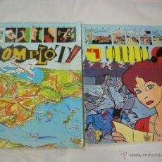 Cómics: COMPLOT EL ULTIMO TEBEO Nº 0 Y HECHO EN ESPAÑA Nº 1 - EDITORIAL COMPLOT 1985. Lote 53741668