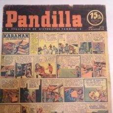 Cómics: PANDILLA - SEMANARIO DE HISTORIETAS FAMOSAS - NUM 46 - 21 MAYO 1945. Lote 53751740