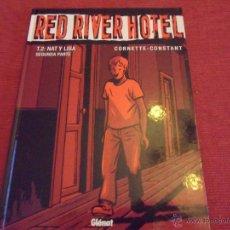 Cómics: RED RIVER HOTEL - TOMO 2 NAT Y LISA - GLENAT 1ª EDICION 2004 - TAPAS DURAS. Lote 53840657