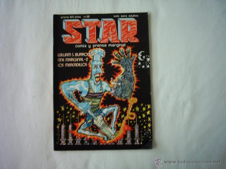 STAR. COMIX Y PRENSA MARGINAL. Nº 18. 1976. (Tebeos y Comics - Comics otras Editoriales Actuales)
