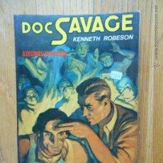 Cómics: DOC SAVAGE, ASESINOS EN ACCION KENNETH ROBESON,. Lote 54147113