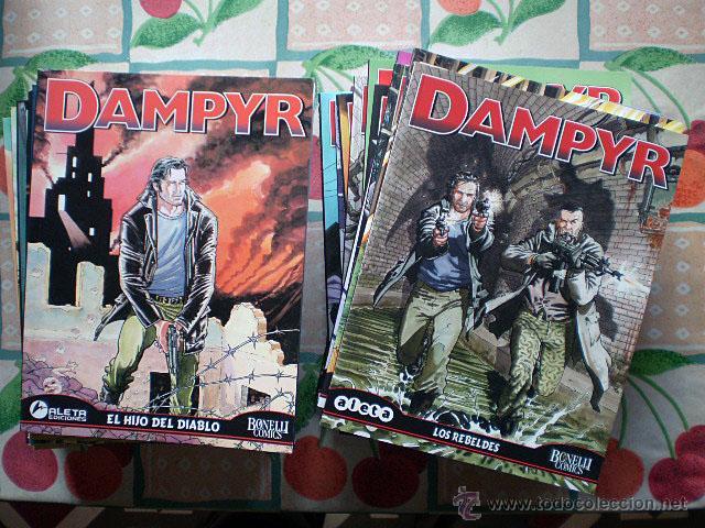 DAMPYR SERIE MENSUAL (COMPLETA, ALETA EDICIONES, BONELLI CÓMICS, 26 TOMOS) NUEVA (Tebeos y Comics - Comics otras Editoriales Actuales)