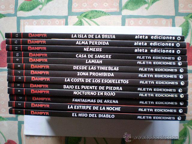Cómics: Dampyr serie mensual (completa, Aleta Ediciones, Bonelli Cómics, 26 tomos) Nueva - Foto 2 - 54157156